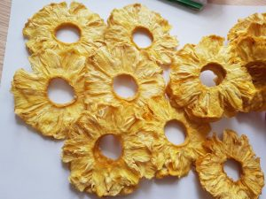 New Dried Fruit: Natural Dried Pineapple No Sugar Added